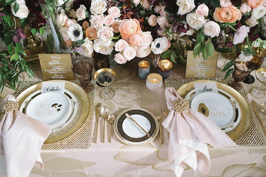 Luxe Linens California Wedding Day