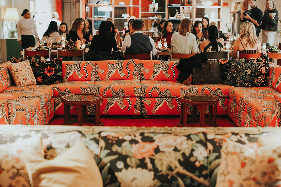 Guests dine at Marvimon's Flora Chang
