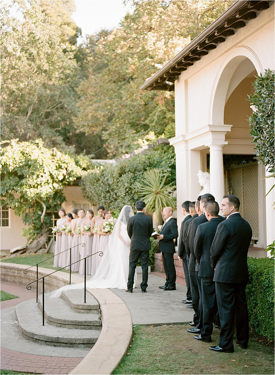 Villa Montalvo Served As The Perfect Backdrop For This