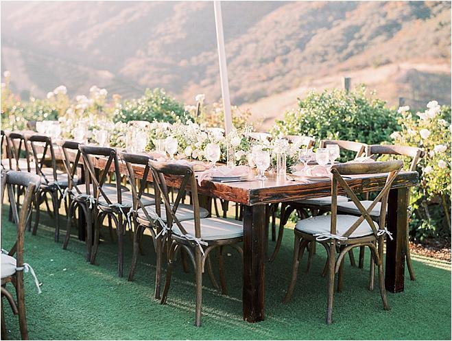 Saddlerock Ranch Wedding.A Breathtaking Wedding With Impeccable Views At Saddlerock Ranch