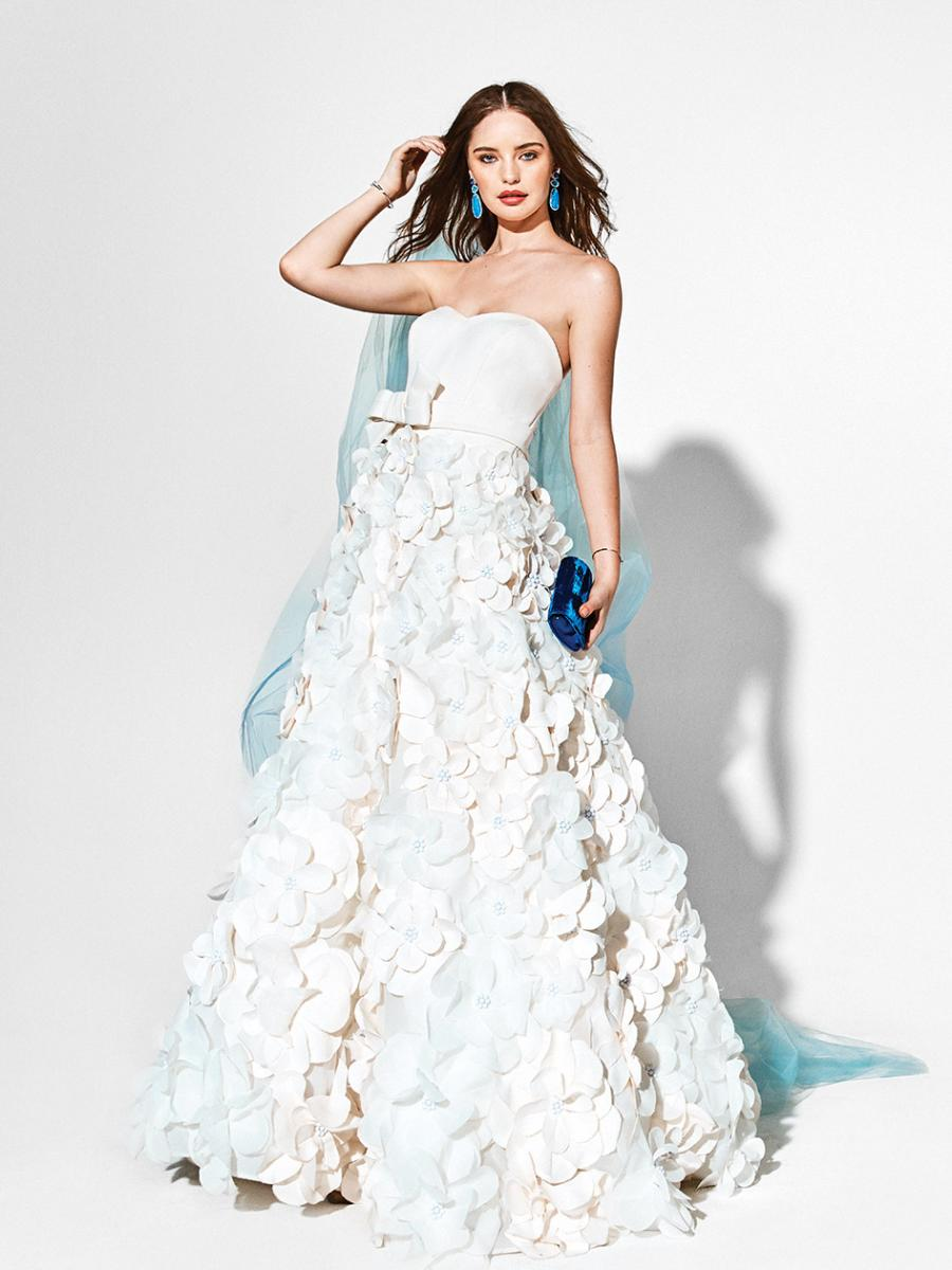 Bold And Beautiful Modern Wedding Dresses And Sparkling Accessories