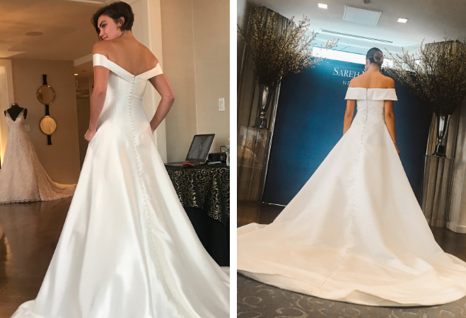 Top Three Wedding Dress Trends For 2019 From New York Bridal Fashion