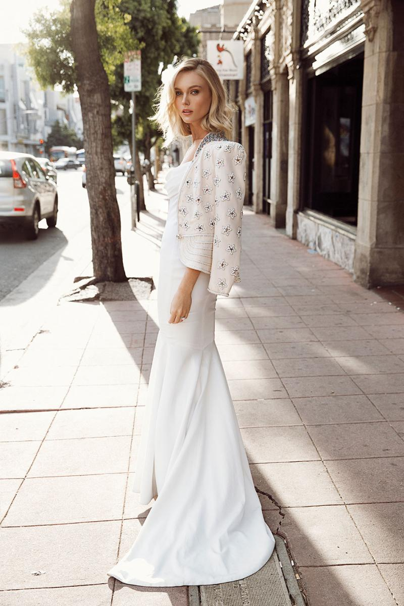 Uptown Girl: Nine Fashion-Forward Wedding Dresses Styled With an ...