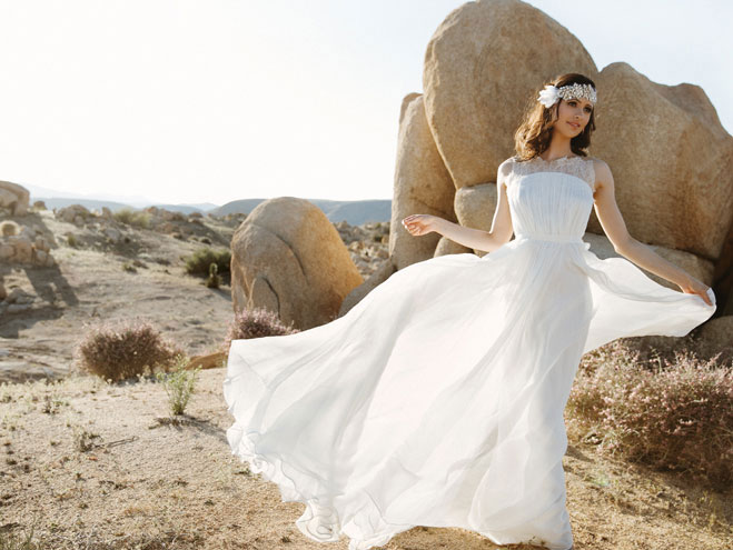 bce9b1c239 Desert Rose  Bridal Dresses for the Free Spirit