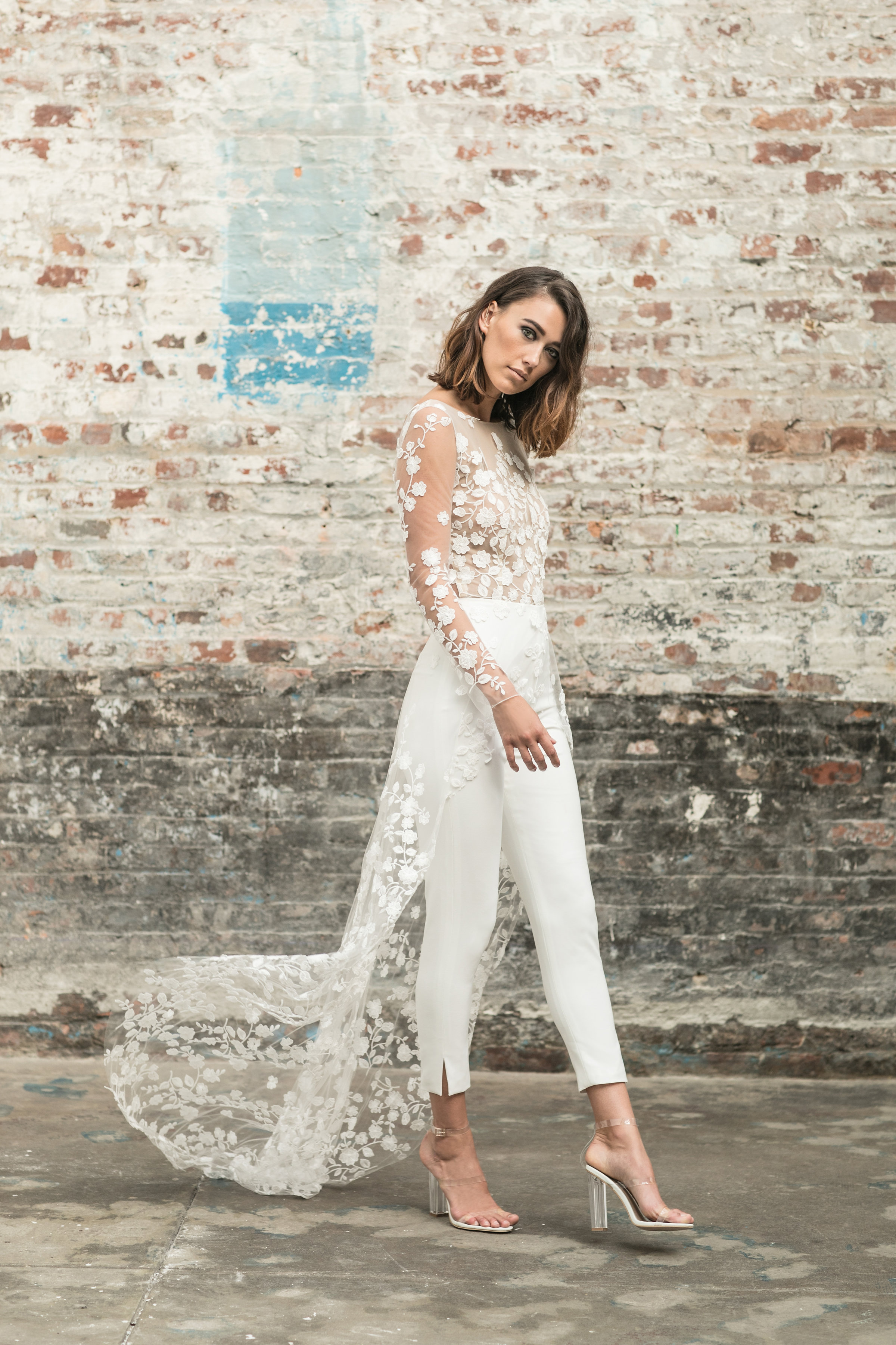 Wedding Dress Trend: Let the Bride Wear the Pants   California ...