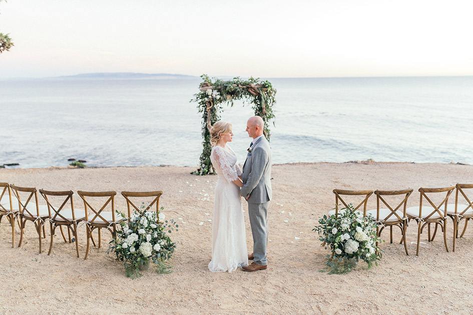 Family Ties An Intimate Beachfront Wedding At The Point San