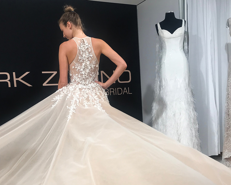 Top Three Wedding Dress Trends For 2019 From New York