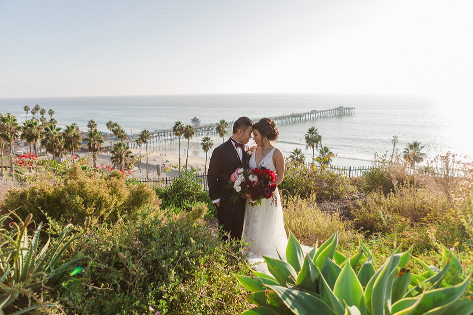 Christine and Michael's Casa Romantica wedding