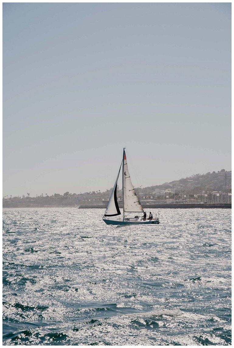 Wedding sailing expedition