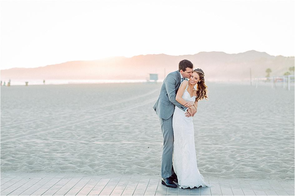 The Perfect Santa Monica Beach Wedding