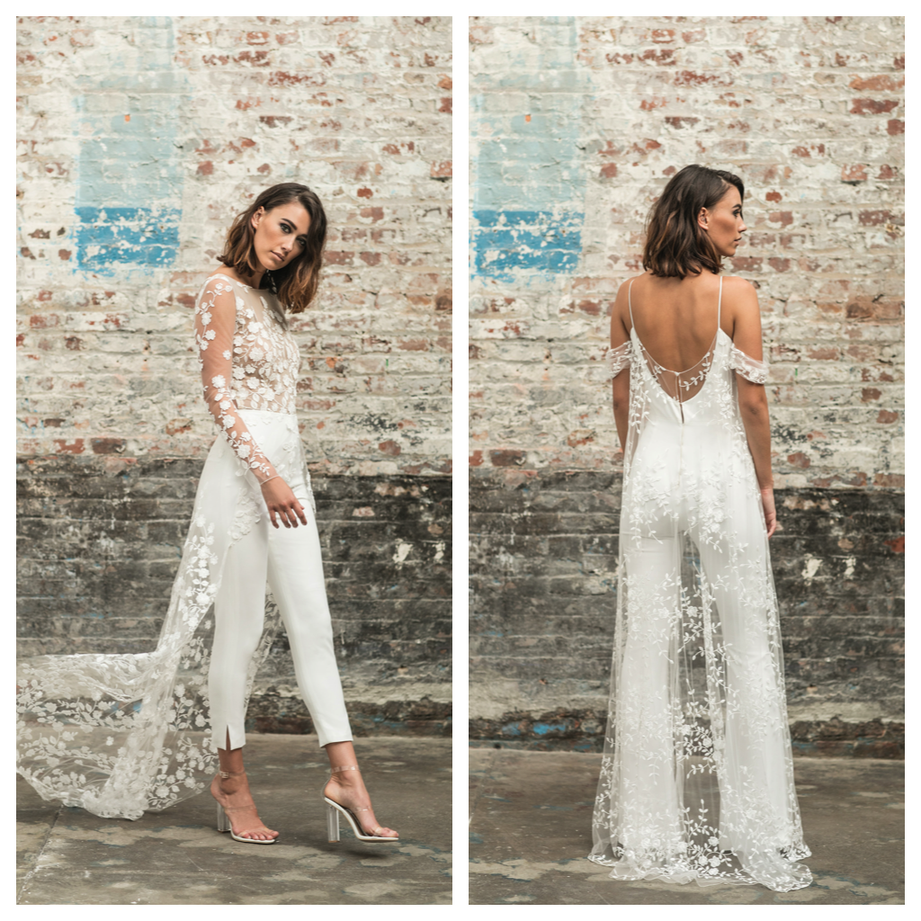 Wedding Dress Trend: Let the Bride Wear the Pants  California