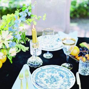 1950s inspired tablescape