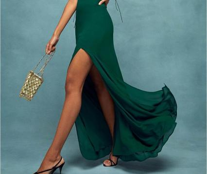 Green Reformation Occasion Dress