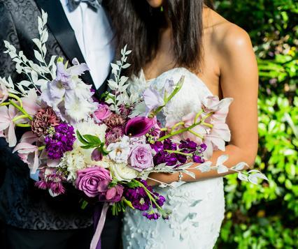 Photo by BYC Photography, Floral Design by Leta Verbena