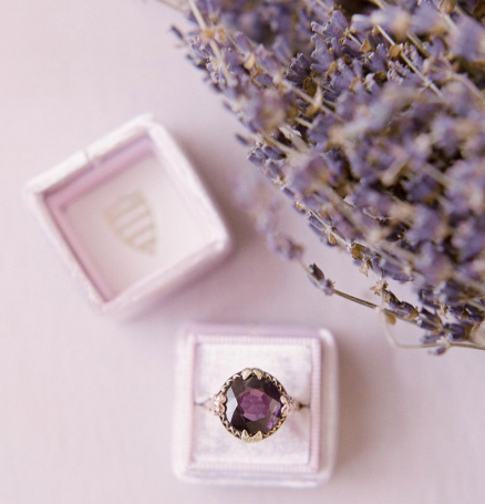 Amethyst Alternative Ring