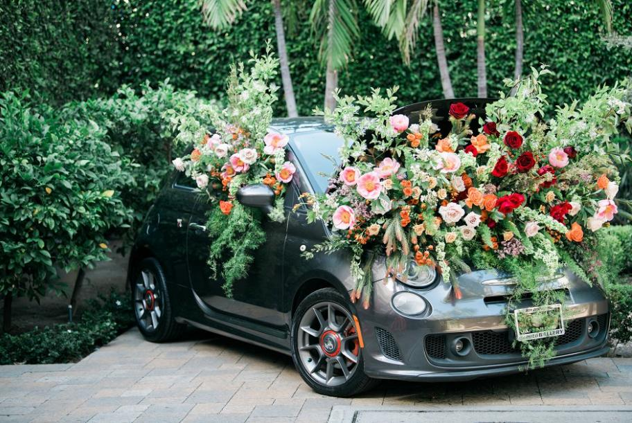 cwd best of 2018, fiat car, floral inspiration, wedding inspiration, california wedding, california wedding day best of 2018
