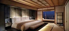 Skyline views of Tokyo  at The Ritz-Carlton