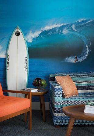 Catch a wave at the Dream Inn Santa Cruz, image courtesy of Paul Dyer