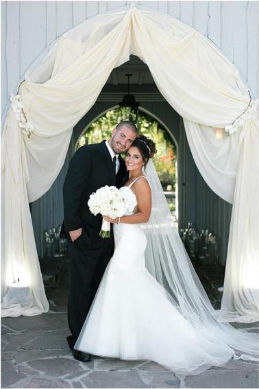 Photography: Clane Gessel, Planner: Merrily Wed, Florist: B&B Flower Designs, Bridal Shop: Katie May Bridal