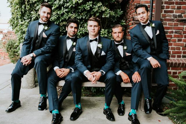 Grooms Attire California Wedding