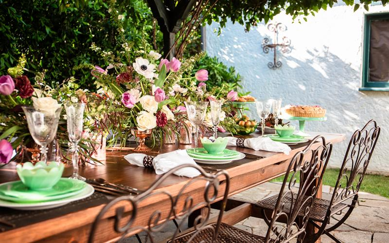 Garden Party Luxury with Good Gracious! Events