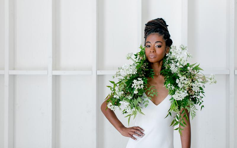 Bride in Bloom - Molly and Co. Photography