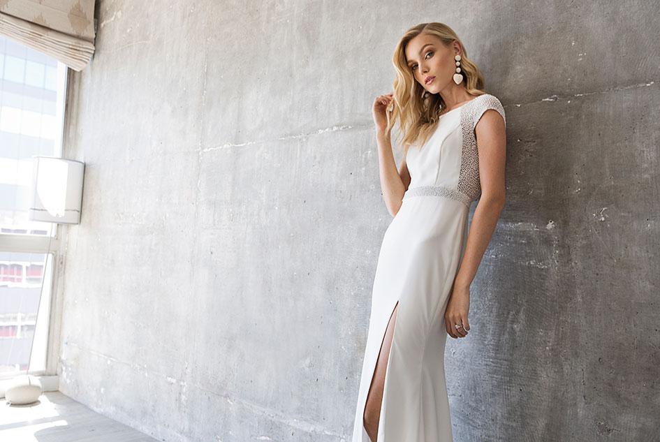 5eb5670bb4 Uptown Girl  Nine Fashion-Forward Wedding Dresses Styled With an ...