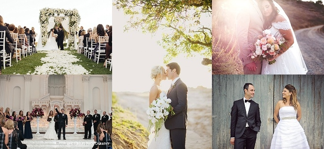 California The 14 Best Real Weddings Of 2014