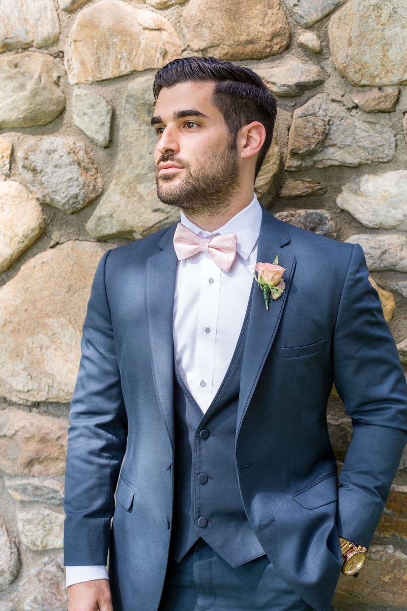 For the Groom: Five Modern Ways to Wear Blue | California Wedding Day